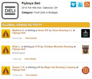 untappd fly
